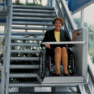 BC Lift für gerade Treppen